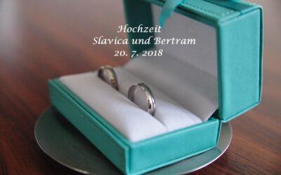Hochzeit Slavica und Bertram